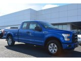 2015 Blue Flame Metallic Ford F150 XL SuperCab #101887114