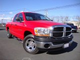 2006 Flame Red Dodge Ram 1500 ST Quad Cab #101887174