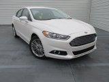 2015 White Platinum Metallic Ford Fusion SE #101887139