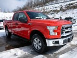 2015 Race Red Ford F150 XLT SuperCab 4x4 #101908157