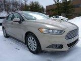 2015 Tectonic Silver Metallic Ford Fusion S #101908151