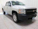 2011 Sheer Silver Metallic Chevrolet Silverado 1500 Extended Cab 4x4 #101908367