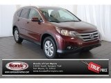 2013 Basque Red Pearl II Honda CR-V EX-L #101907995