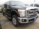 2015 Tuxedo Black Ford F250 Super Duty Lariat Crew Cab 4x4 #101908027