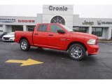 2015 Flame Red Ram 1500 Express Crew Cab #101908234