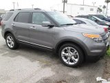 2014 Sterling Gray Ford Explorer Limited 4WD #101945964