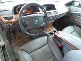 2006 BMW 7 Series Interiors