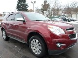 2010 Cardinal Red Metallic Chevrolet Equinox LTZ AWD #101946073