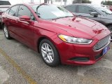 2015 Ruby Red Metallic Ford Fusion SE #101957858