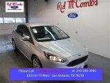 2015 Ingot Silver Metallic Ford Focus SE Sedan #101957855