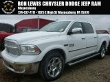 2015 Bright White Ram 1500 Laramie Crew Cab 4x4 #101957997