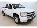 2009 Summit White Chevrolet Silverado 1500 LT Crew Cab 4x4 #101958183