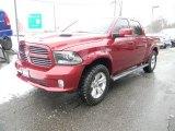 2014 Deep Cherry Red Crystal Pearl Ram 1500 Sport Crew Cab 4x4 #101958093