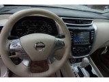 2015 Nissan Murano Platinum Steering Wheel