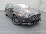 2015 Ford Fusion Titanium Front 3/4 View