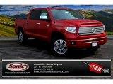 2015 Barcelona Red Metallic Toyota Tundra Platinum CrewMax 4x4 #101993639