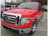 2011 Race Red Ford F150 XLT SuperCrew #101993920