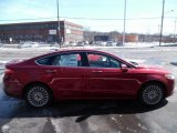 2015 Ruby Red Metallic Ford Fusion Titanium AWD #101993735