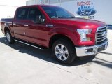 2015 Ruby Red Metallic Ford F150 XLT SuperCrew #101993706