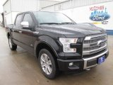 2015 Tuxedo Black Metallic Ford F150 Platinum SuperCrew 4x4 #101993704