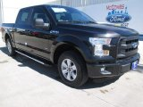 2015 Tuxedo Black Metallic Ford F150 XL SuperCrew #101993702