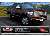 2015 Sunset Bronze Mica Toyota Tundra Platinum CrewMax 4x4 #101993640