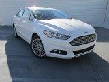 2015 White Platinum Metallic Ford Fusion SE #101993814