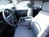 2015 Chevrolet Silverado 1500 WT Double Cab 4x4 Front Seat