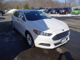 2013 White Platinum Metallic Tri-coat Ford Fusion SE #102027885