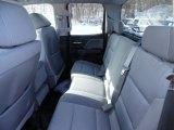 2015 Chevrolet Silverado 1500 WT Double Cab 4x4 Rear Seat