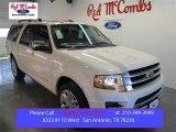 2015 White Platinum Metallic Tri-Coat Ford Expedition EL Platinum #102027756