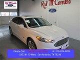 2015 White Platinum Metallic Ford Fusion Energi Titanium #102027754
