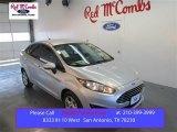 2015 Ingot Silver Metallic Ford Fiesta SE Sedan #102027750