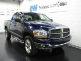 2006 Patriot Blue Pearl Dodge Ram 1500 Big Horn Edition Quad Cab 4x4 #10192996