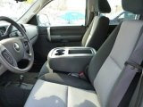 2008 Chevrolet Silverado 1500 LS Crew Cab 4x4 Light Titanium/Ebony Accents Interior