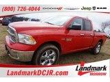 2015 Flame Red Ram 1500 Big Horn Quad Cab 4x4 #102050411