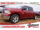 2015 Deep Cherry Red Crystal Pearl Ram 1500 Big Horn Crew Cab 4x4 #102050402