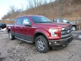 2015 Ruby Red Metallic Ford F150 Lariat SuperCrew 4x4 #102050340