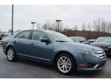 2011 Steel Blue Metallic Ford Fusion SEL #102050440
