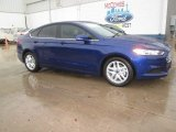 2015 Deep Impact Blue Metallic Ford Fusion SE #102080840