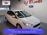 2015 Oxford White Ford Focus SE Sedan #102080837