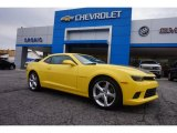 2015 Bright Yellow Chevrolet Camaro SS/RS Coupe #102081011