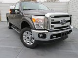 2015 Magnetic Ford F250 Super Duty Lariat Crew Cab 4x4 #102080975