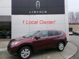 2012 Basque Red Pearl II Honda CR-V EX-L 4WD #102110344