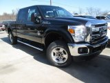 2015 Tuxedo Black Ford F250 Super Duty XLT Crew Cab 4x4 #102110163