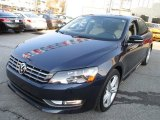 2014 Volkswagen Passat Night Blue Metallic