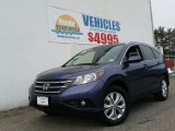 2012 Twilight Blue Metallic Honda CR-V EX-L 4WD #102110650