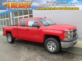 2015 Victory Red Chevrolet Silverado 1500 LS Double Cab 4x4 #102110131