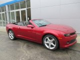 2015 Crystal Red Tintcoat Chevrolet Camaro LT/RS Convertible #102110130