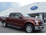 2015 Bronze Fire Metallic Ford F150 Lariat SuperCrew #102110363